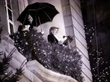 Princess Diana Turns on the Christmas Lights on Regent Street Photographie