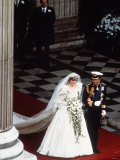 The Wedding of Prince Charles and Lady Diana Spencer on 29th July 1981 Photographie