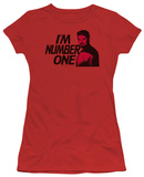 Juniors: Star Trek - Next Generation - I'm Number One T-shirts