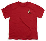 Youth: Star Trek - Engineering Uniform T-Shirt