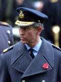 Prince Charles, November 2002. Remembrance Day Parade at Whitehall, London Photographic Print