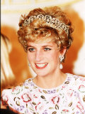Princess of Wales in Korea Princess Diana November 1992 Photographie