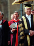 Prince Charles Prince of Wales June 2001 is Awarded an Honoray Degree at Glasgow University Photographic Print