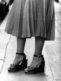 Platform Shoes, August 1974 Photographic Print