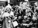 Queen Mother at Sandwich in Kent Photographic Print