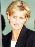 Princess Diana Arrives in Luanda Angola January 1997 Photographie