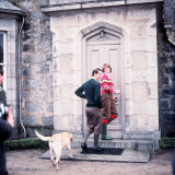 Prince Charles and Lady Diana Spencer at Balmoral May 1981 Photographic Print
