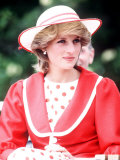 Princess Diana in Canada at the Festival of Youth in St Johns Newfoundland June 1983 Photographie