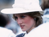 Princess Diana in Canada in Campbellton June 1983 Photographie