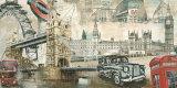 Londres Pósters por Tyler Burke