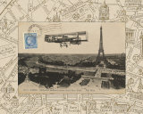 Destination Paris III Print by Hugo Wild