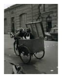 Baiser Blotto, c.1950 Prints by Robert Doisneau