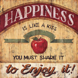 Happiness Posters by Brent Mcrae