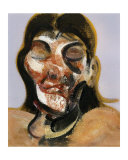 Study of Henrietta Moraes, c.1969 Art by Francis Bacon