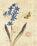 Botanical on Wood I Prints by Katie Pertiet