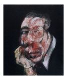 Head no. 3, c.1961 Posters by Francis Bacon