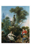 La Surprise Art by Jean-Honoré Fragonard
