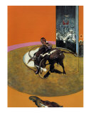 Study for a Bullfight no. 1, c.1969 Posters by Francis Bacon