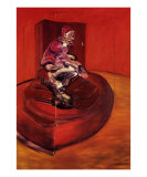 Study of Pope Innocent X, c.1962 Planscher av Francis Bacon