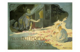 Madama Butterfly, c.1904 Art by Adolfo Hohenstein