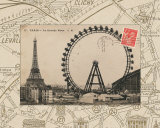 Destination Paris IV Prints