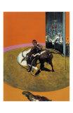 Study for a Bullfight no. 1, c.1969 高品質プリント : フランシス・ベーコン