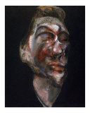 Three Studies of George Dyer Poster by Francis Bacon