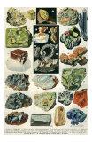 Mineraux I Poster