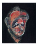 Head no. 2, c.1961 Posters by Francis Bacon