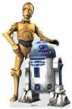 C3PO and R2D2  - Clone Wars Stand Up
