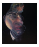 Three Studies of George Dyer Posters by Francis Bacon