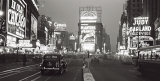 Times Square at Night, New York City, c.1938 Poster