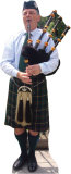 Bagpiper Stand Up