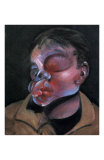 Autoportrait a l&#39;Oeil Blesse, c.1972 Posters by Francis Bacon