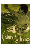 Cintura Calliano Contro Il Mare, c.1898 Prints by Adolfo Hohenstein