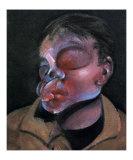 Autoportrait a l'Oeil Blesse, c.1972 ポスター : フランシス・ベーコン