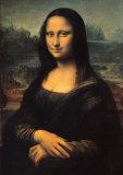 Mona Lisa, c.1507 Plakat av  Leonardo da Vinci