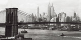 Lower Manhattan and the Brooklyn Bridge, c.1937 Prints
