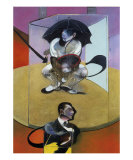 Personnage Assis, c.1978 Posters by Francis Bacon