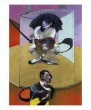 Seated Figure, c.1978 ポスター : フランシス・ベーコン