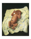 Bebe Avec Cordon Ombilical, c.1927 Kunst von Otto Dix