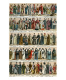Costumes Religieux Print