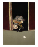 Triptych, May-June, 1973 (detail) Print by Francis Bacon