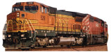 BNSF Train 526 Cardboard Cutouts