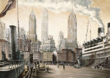 Departure, New York Prints by Matthew Daniels