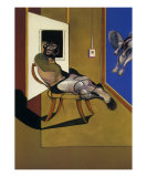 Seated Figure, c.1974 Poster by Francis Bacon