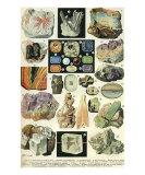 Mineraux II Prints