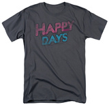 Happy Days - Distressed T-Shirt