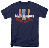 My Three Sons - Shoes Logo T-shirts