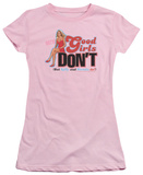 Juniors: Beverly Hills 90210 - Good Girls Don't T-Shirt